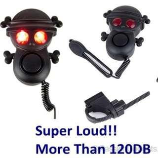 Skull Skeleton Electronic Horn for Scooter/ Bicycle Electric Bell