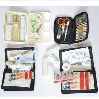 包順豐櫃 清櫃價$90/4套 小型急救包 急救箱 急救袋 First Aid Kit 露營 戶外活動 家居 適用 全新
