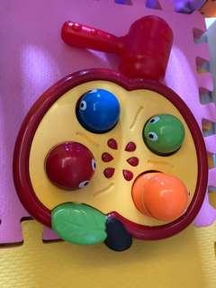嬰兒玩具打地鼠