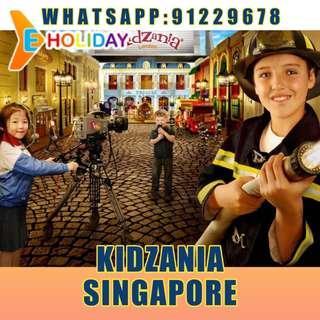 Kidzania Sentosa E-ticket Singapore  ღ E-holiday ღ