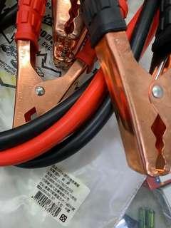 1000A 銅夾 急救車線 材質塑料銅鋁 2.5m