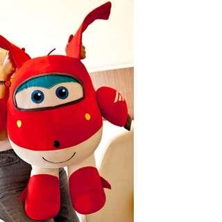 Super Wings Soft Toy  (Height: 50 cm)