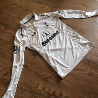 12/13 Tottenham Hotspurs Authentic Long Sleeved Home Jersey