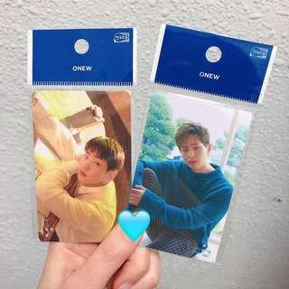 SHINee Onew Cashbee Card - A (Right) / B (Left)