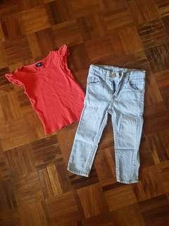 Jeans and top toddler