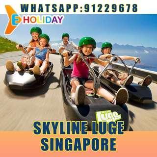Luge and skyride E-ticket 2 ride ღE-holidayღ