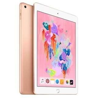 iPad 2018 Wifi 128GB - Gold (Latest 6th Generation)