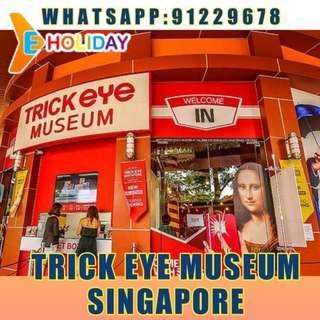 Trick Eye Museum Singapore ღE-holidayღ