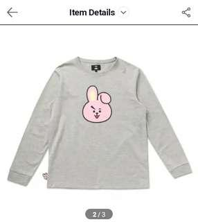 (FOUND) LF/WTB Official BT21 Cooky or Chimmy Pullover