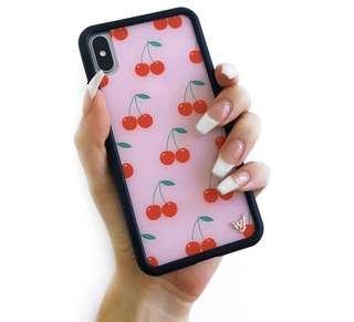 🚚 Wildflower iPhone X/Xs Pink Cherries case