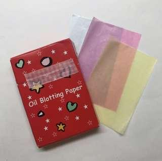 🚚 🎉oil blotting paper
