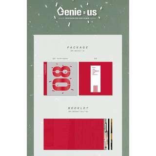 🚚 [PO] PENTAGON GENIE:US ALBUM