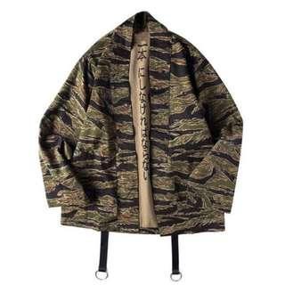 """Tiger Camo"" Kimono Jacket from Club Giv"