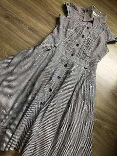 Glitter Midi Dress Vintage