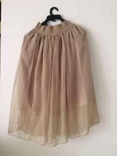 Brown Skirt / rok