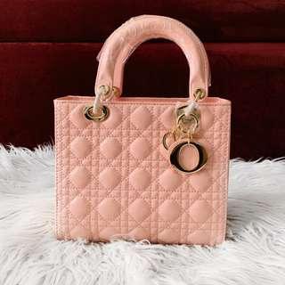 Christian Dior Lady Dior Medium Pink