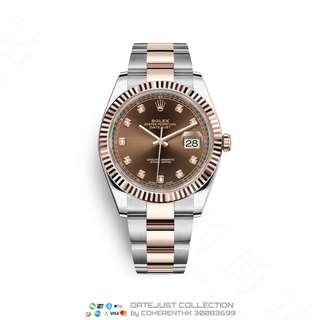 NEW ROLEX M126331-0003 DATEJUST 41  (126331) RSP HK$112,200.00