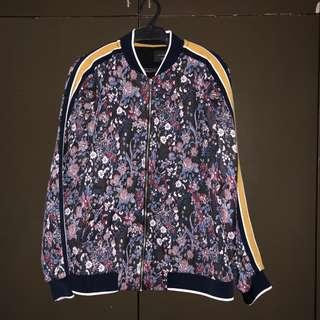Zara Floral Jacket (Brand New)