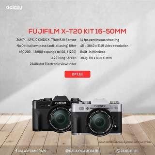 Kredit Camera Mirorless Fujifilm XT-20
