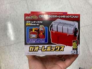 Pokemon Gaole disk storage box