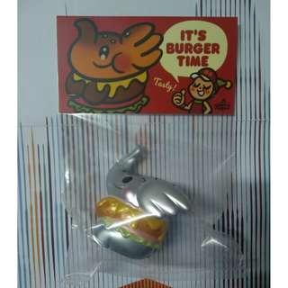 全新 Burger Elfie Silver (New Year Edition) Unbox Industries