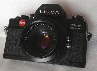 Leica R3 古典胶片機連1:2/50原廠鏡頭