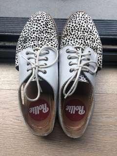 Rollie Leopard print shoes