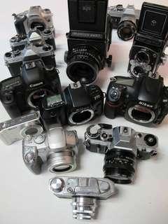 Fuss-free Film Camera Repairs!