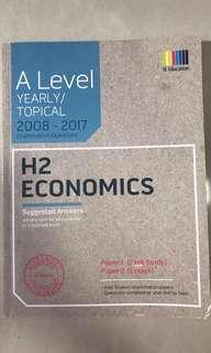 Economics A levels H2 yearly/topical