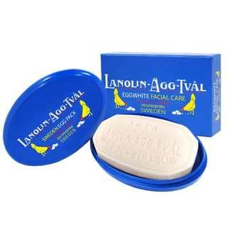 VICTORIA LAVOLIN SOAP 瑞典維多利亞蛋白面膜皂 Scandinavian Soap AB 面膜 潔面 收細毛孔 緊緻 去角質和黑頭 保濕 亮白