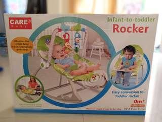 Bouncer baby care rocker