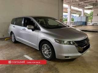 Honda Odyssey 2.4A (New 10-yr COE)