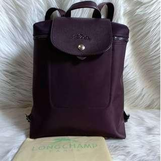 Bagpack longcamp depose Made in france