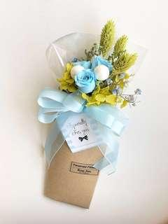 Especially for you ☆ Baby Blue -Preserved  Flower bouquet