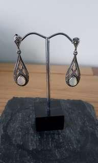 Fuse Silver Marcasite earring