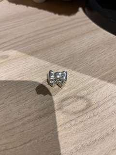 Pre Loved Authentic Pandora Charm - Bow