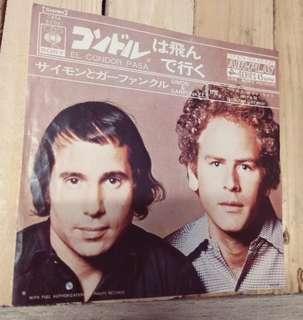 Simon and Garfunkel EL Condor Pasa Air Play Serirs This is 747 ! 細碟7吋  黑膠唱片 $100