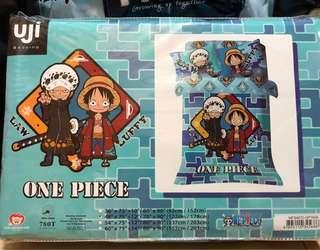 UJI Sanrio 海賊王 100%絲般棉雙人床品