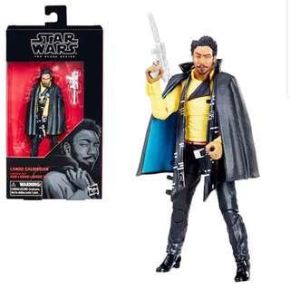 MISB Star Wars Black Series Lando Calrissian #65 Action Figure