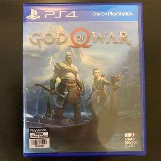🚚 「can trade in game」God of war ps4 almost new