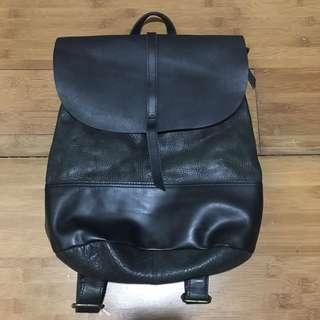Pure Leather Back pack/Bodybag