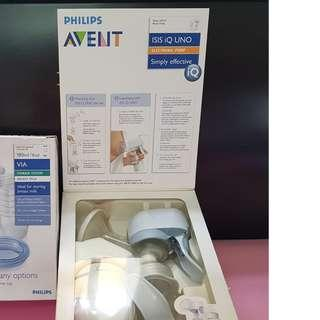 Avent Expressing Milk Electric/Manual Pump ISIS iQ UNO