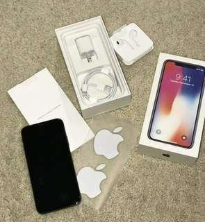 Apple iPhone X 256GB Space Grey Unlocked.