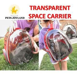 Transparent Space Carrier