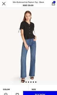 Pomelo button up blouse