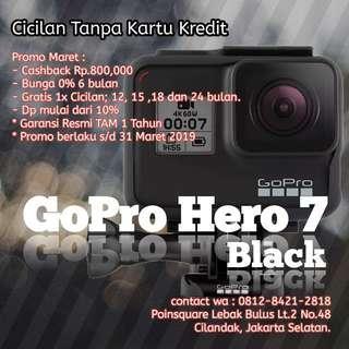 GoPro Hero 7 Black, cicilan tanpa kartu kredit