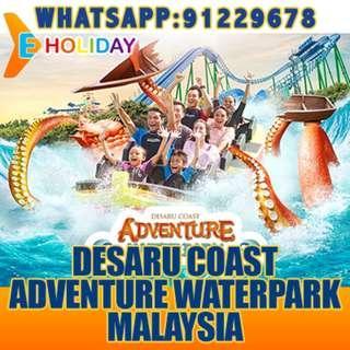DESARU COAST ADVENTURE WATERPARK MALAYSIA ღ E-holiday ღ