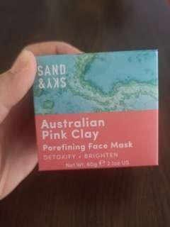 🚚 Sand and Sky pink clay mask
