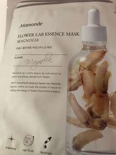 🚚 Mamonde masks