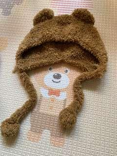 🚚 🐻熊熊造型毛帽